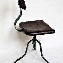 """Industriální židle """"Baťovka"""""""