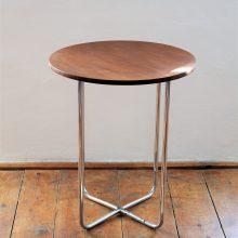 Chromovaný stoleček