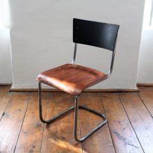 Trubková židle bez područek I.
