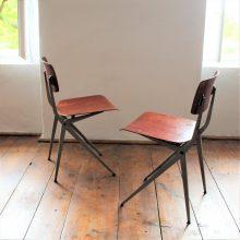 Industriální židle 2 ks