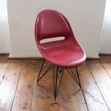 židle Vertex II. červená