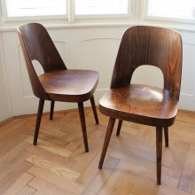 2 ks židle Ton – Oswald Haerdtl