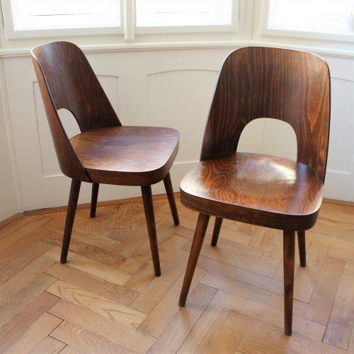 Pair of Ton chairs – Oswald Haerdtl