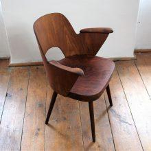 židle s područkami – Oswald Haerdtl