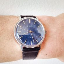 Prim wristwatch – dark blue pyjamas II