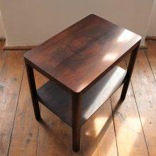 odkládací retro stolek Dřevopodnik Holešov