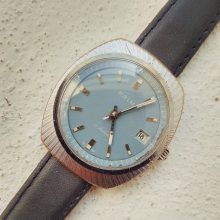 Prim with a blue dial