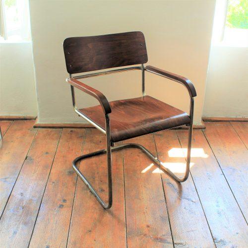 Rare tubular armchair