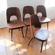 4 ks židle TON dle návrhu O. Haerdtla