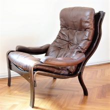 leather armchair from scandinavia