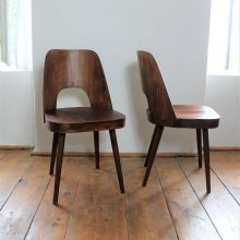 Pair of Ton chairs – design by Oswald Haerdtl