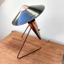 czech modernist desk lamp by Helena Frantova