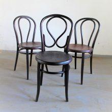 "2 ks ohýbané židle no.18 a 1 ks no. 20 ""omega"""