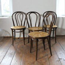 6 pcs. TON chairs no. 18