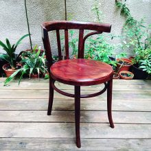 original chair made of beech wood