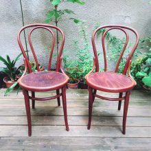 original bent chair Thonet no. 18