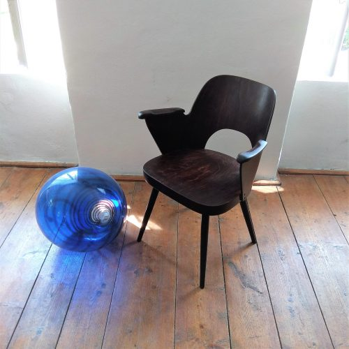 TON chair with armrests II. design by – Oswald Haerdtl