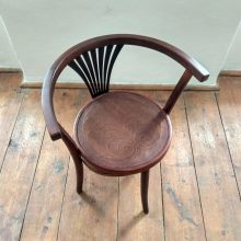 original Art Nouveau chair by Thonet