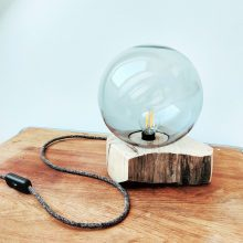 menší lampa rustika