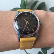 Luxusní černé hodinky Prim