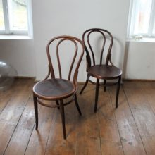 original bentwood chairs Thonet no. 18